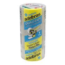 Fita para Embalagem Adelbras Transparente 4 Rolos de 4,8cmx45m -