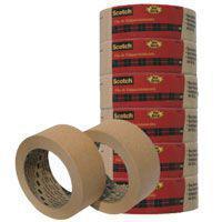 Fita para empacotamento papel 2564 38mmx10m. pct.c/06 - 3M