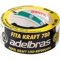 Fita para Empacotamento Papel KRAFT 780 48MMX50MTS - Adelbras