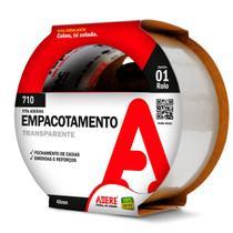 Fita para Empacotamento Tapefix 710, 48X100 Transparente - Adere 11053000573 -