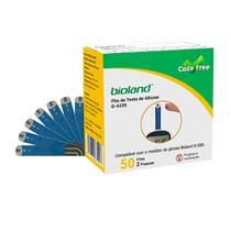 Fita para Glicosímetro Caixa com 50 unidades Modelo 6423S - Bioland -