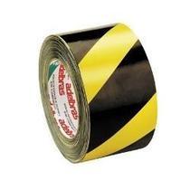 Fita Plástica Para Demarcação De Área - Zebrada 70mm X 100m - Adelbras