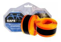Fita protetora anti-furo 23mm x 2,20mts p/ 27 /700 laranja  safetire -