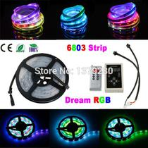 Fita Rgb Led 6803 Ic Magic Dream 133 efeitos Ip67 5 metros  C/controladora remoto - Premium