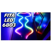 Fita Rgb Led 6803 Ic Magic Dream 133 efeitos Ip67 5 metros S/controladora - Alume