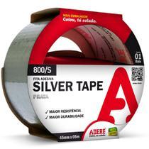 Fita Silver Adere Multiuso Tape 800S 45mm x 5m Prata -
