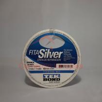 Fita silver tape 48mmx5m branca multiuso - Tekbond