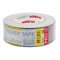Fita Silver Tape Adelbras 48 X 50m Cinza  803080015 -