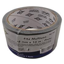 Fita Silver Tape Brasfort 48 X 10m Preta  7647 -