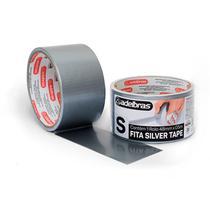 Fita silver tape com 5 metros adelbras -