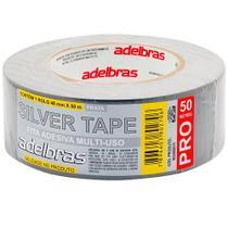 Fita Silver Tape Cz Adelbras 48mm X 50m - Rcdeletrica