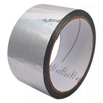 Fita Silver Tape Multiuso Adesiva 48mm X 5mts - Cinza - Importado -