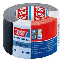 Fita Silver Tape Preta 48mmx50m Profissional Tesa Importado -
