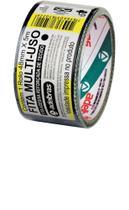 Fita Silver Tape Preto 48MMX05M Adelbras 960 -