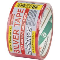 Fita Silver Tape Vermelha- Adelbras -