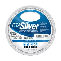 Fita Silver Tek Bond Branca 48mm x 5m -