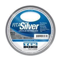 Fita Silver Tek Bond Prata 48mm x 5m -
