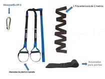 Fita Treinamento Suspensão Trx Completo Profissional - Ropeshop
