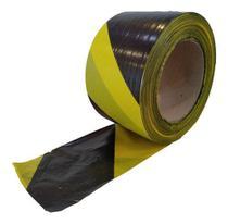 Fita Zebrada para Isolamento de Áreas 70x200m Plastcor -