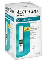 Fitas de Glicemia  Accu Check Active CX com 50 Unds - Roche -