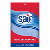 Flanela microfibra azul saif 50x60cm -