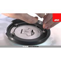 Flange fixação de bolsas GIVI TankLock BF11 Bmw / Ducati -