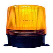 Flash de advertência 12v com lente de acrílico dimensões: 10, 0x7, 8cm - Dni