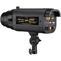 Flash para Estudio Fotográfico - Atek 200 Master - 200W -
