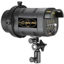 Flash para Estudio Fotográfico - Atek 250 Compact - 250W -