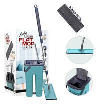 Flat Mop Multiuso Lava Seca Limpa Piso + 1 Refil Brinde - 123 Util