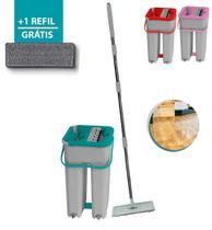 Flat Mop Multiuso Wash Slim Vertical Lava Seca refil extra - Belakaza