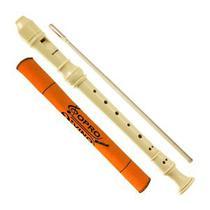 Flauta Doce Abs Barroca Hohner B9319 Vareta Limpeza - Hofner
