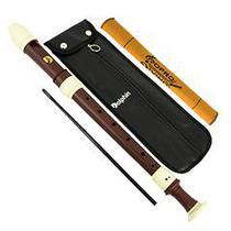 Flauta Doce Barroca Contralto Do (C) ABS Madeira / Marfim Dolphin Cod.7654 -