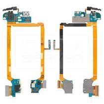 Flex Conector Carga LG Optimus G2 D802 D805 com P2 Fone e Microfone -