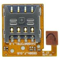Flex slot chip card Celular Lg G3 Stylus  D690 / D690n  Original -