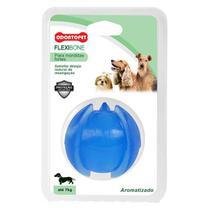 Flexi Bola para Cachorro Flexibone Odontopet 7 Kg Azul -