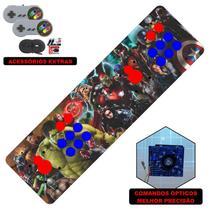 Fliperama Portátil 14.000 Jogos Óptico 73cm Avengers - Clube do fliperama
