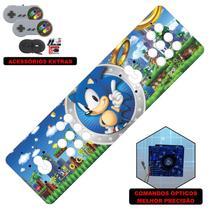 Fliperama Portátil 14.000 Jogos Óptico 73cm Sonic - Clube do fliperama