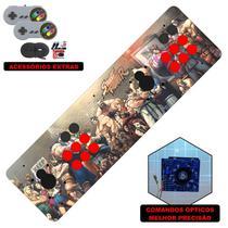 Fliperama Portátil 14.000 Jogos Óptico 73cm Street Fighter - Clube do fliperama