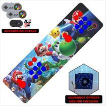 Fliperama Portátil 14.000 Jogos Óptico 73cm Super Mario - Clube do fliperama