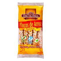 Flocos de Arroz Natural DaColônia Zero Lactose 100g - Dacolonia