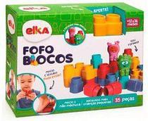 Fofo Blocos Com 35 Peças Elka -