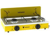 Fogão 2 Bocas Venax Flamalar Vetrô - Amarelo