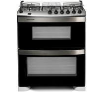 Fogão Brastemp 5 bocas duplo forno Branco com acendimento automático -