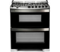 Fogão Brastemp 5 bocas duplo forno Branco com quadrichama e timer digital -