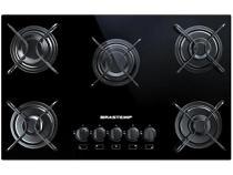 Fogão Cooktop com grades piatina e acendimento automático - BDD75AE - Brastemp