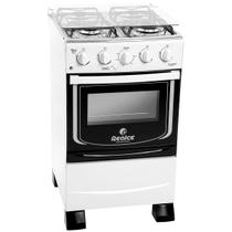 Fogão De Piso 4 Bocas Hera Plus Branco 5301 Realce - Realce eletrodomésticos