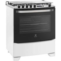 Fogão Electrolux 5 Bocas Timer Digital Branco Bivolt - 76RBS -