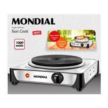 Fogão Elétrico 1 Boca Portátil Mondial Fast Cook 5974-02 -