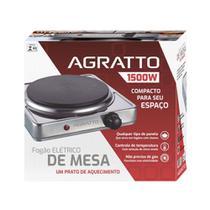 Fogão Elétrico 1500W 127V FMA01 Cinza Agratto -